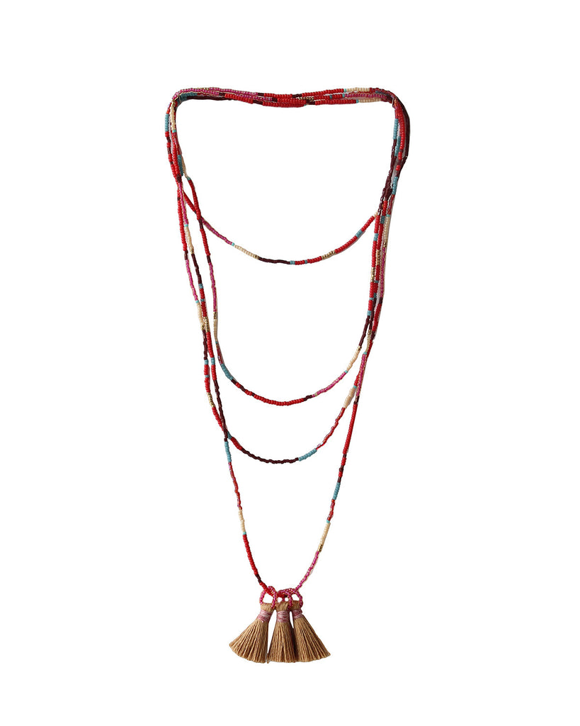 Red Tai Necklace ...