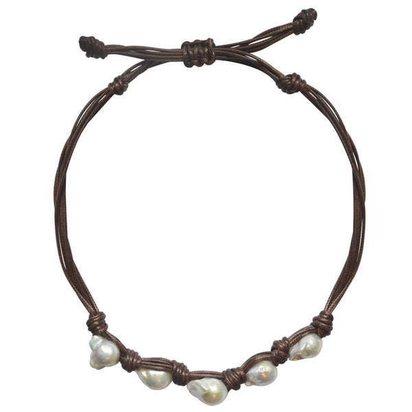 Caracol Pearl Necklace