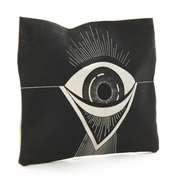 Evil Eye Canvas Coin Pouch