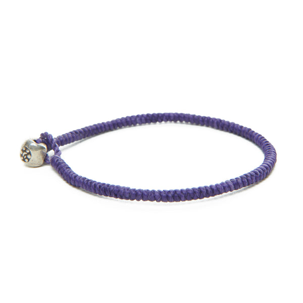 Purple Moon Nugget Bracelet