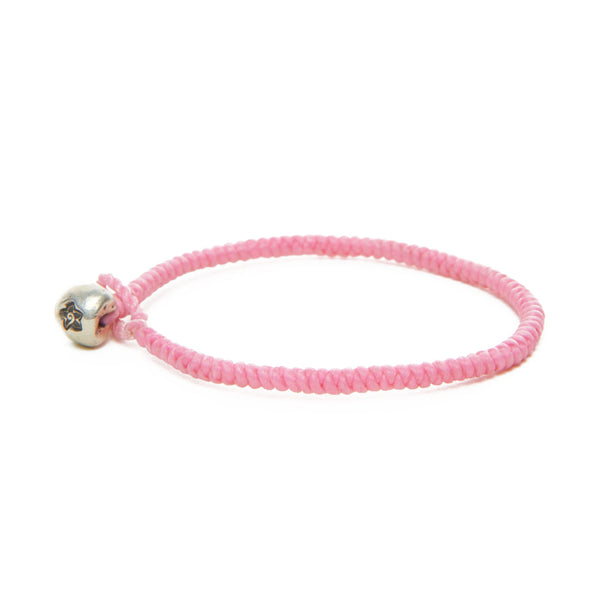 Kid's Pink Flower Nugget Bracelet