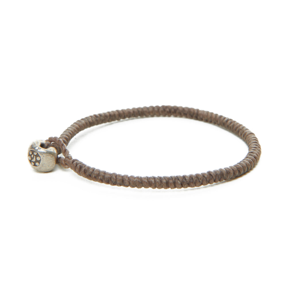 Tan Moon Nugget Bracelet