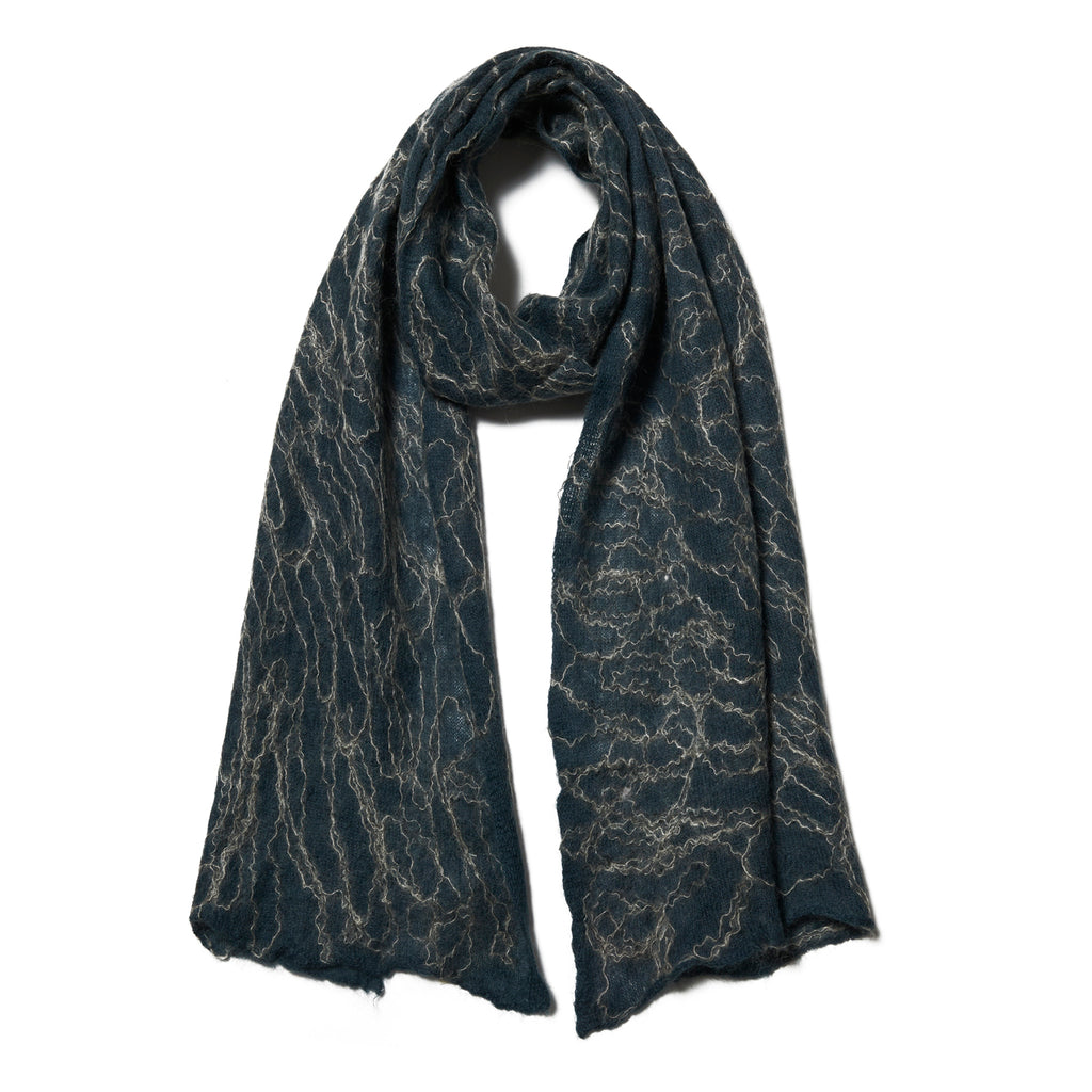 Hand Felted Cashmere on Mohair Mardi Himal Scarf