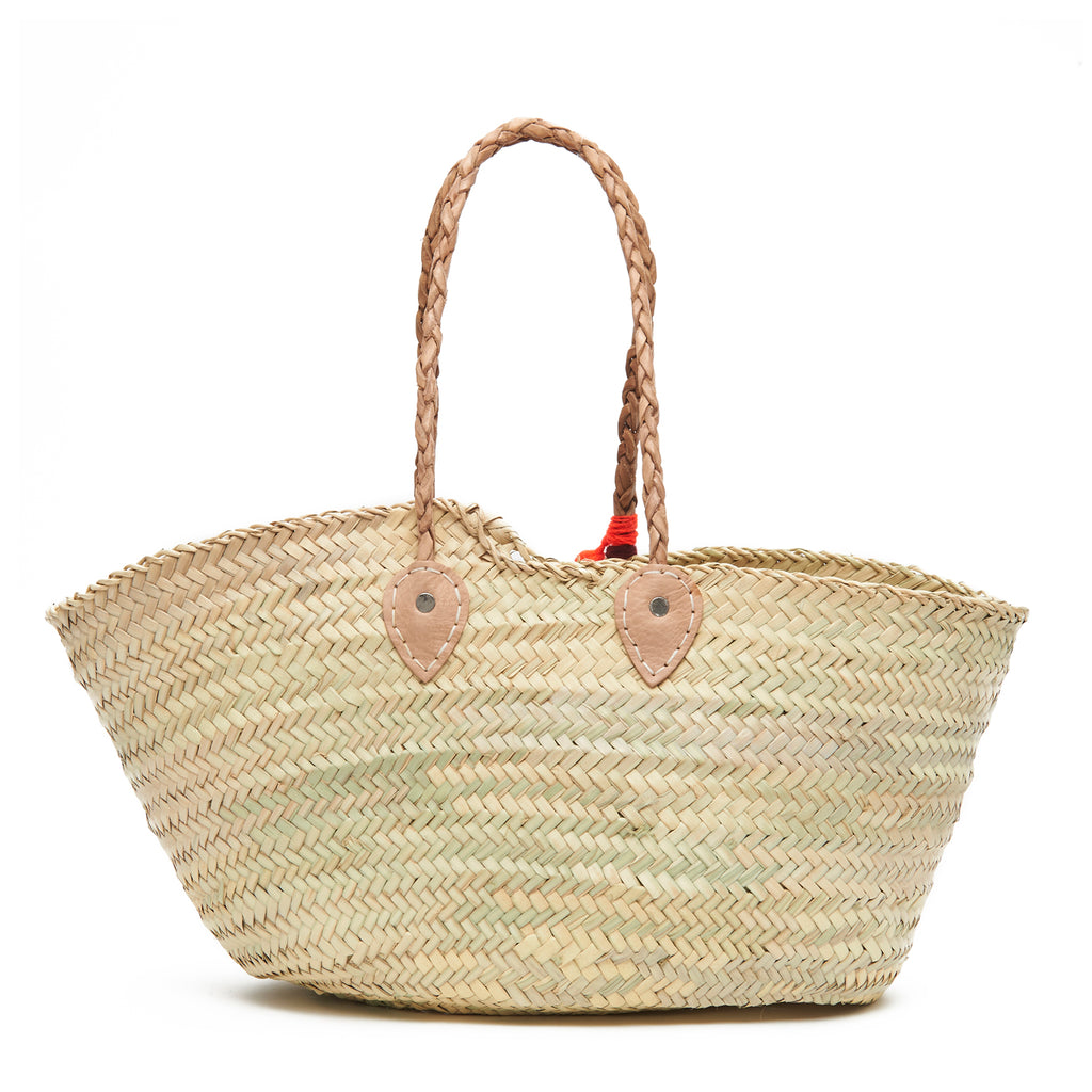 the future is female Embroidered Basket