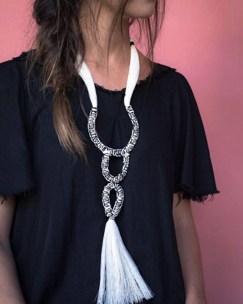 Ceremonia Cotton Necklace