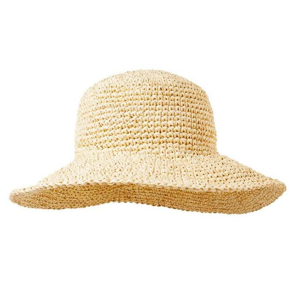 Natural Straw Fiji Hat