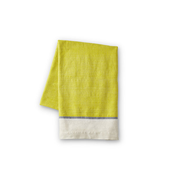 Yellow Cotton Beach Towel