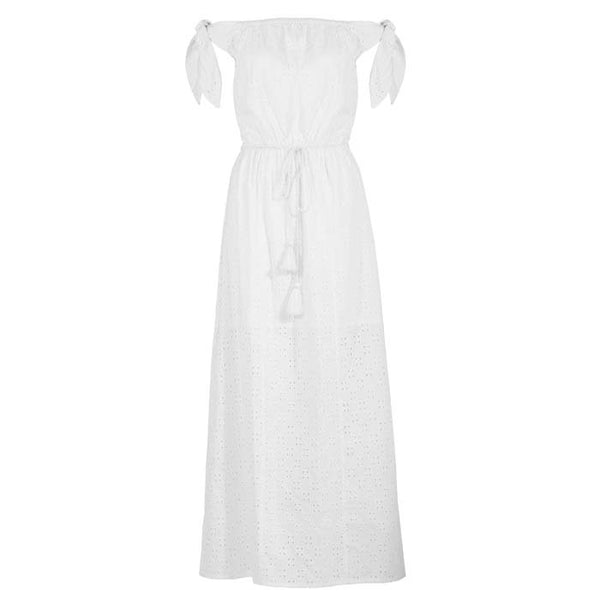 White Amalfi Dress