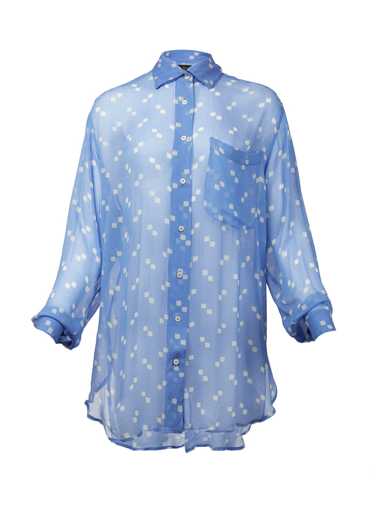 Blue Tiza Shirt