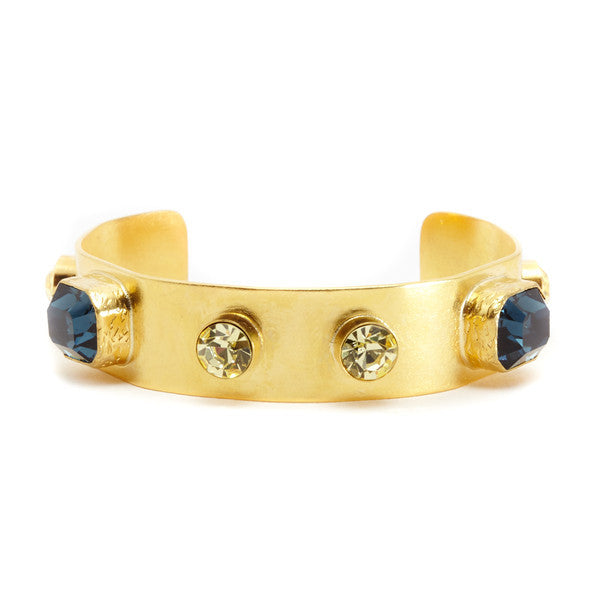 DEACTIVATED FOR API Yellow and Blue Afya Cuff