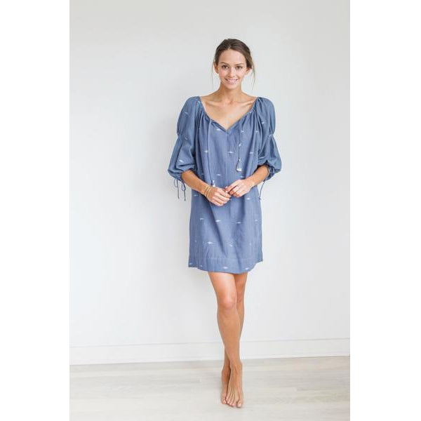 Blue Cotton Goa Tunic