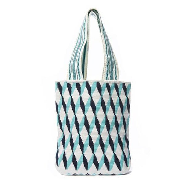 Blue Diamond Cotton Tote