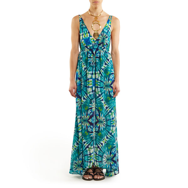 Blue Thai Xanadu Max Dress