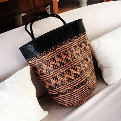 Brown Sabah Shopper Bag