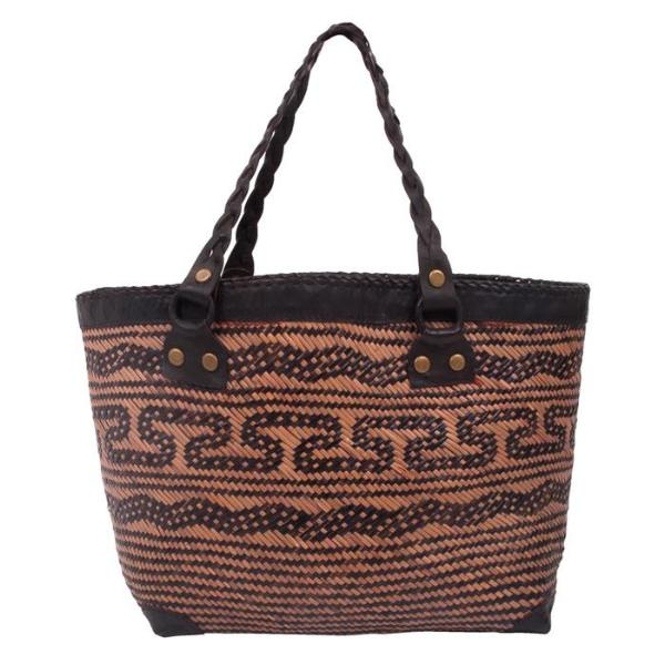 Brown Sumartra Beach Bag