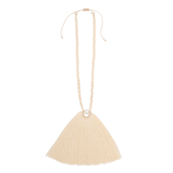 Crin Campana Tassel Necklace