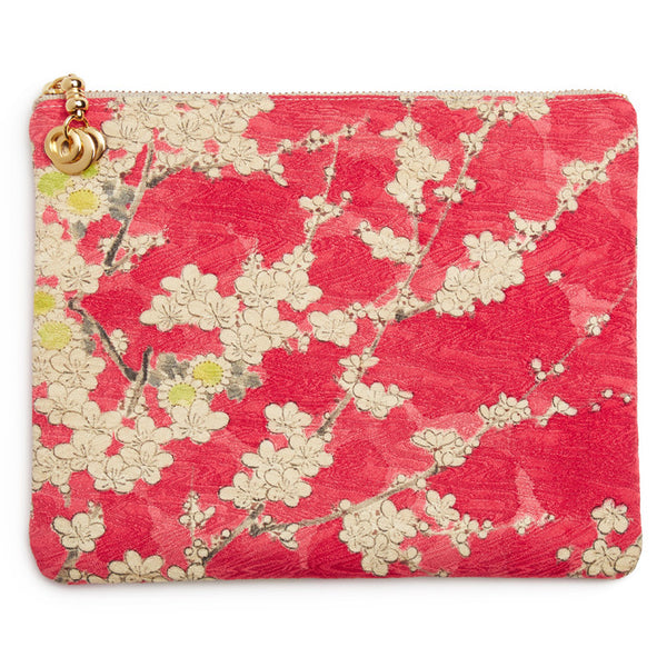 Red Silk Blossom Takara Mini Pouch