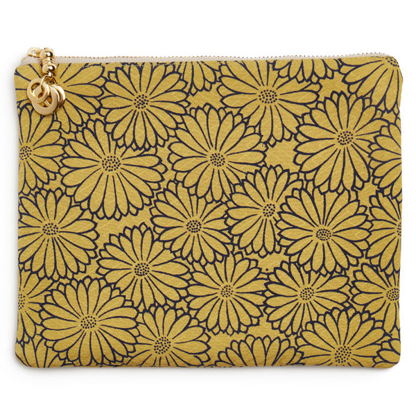 Golden Moss Silk Takara Mini Pouch