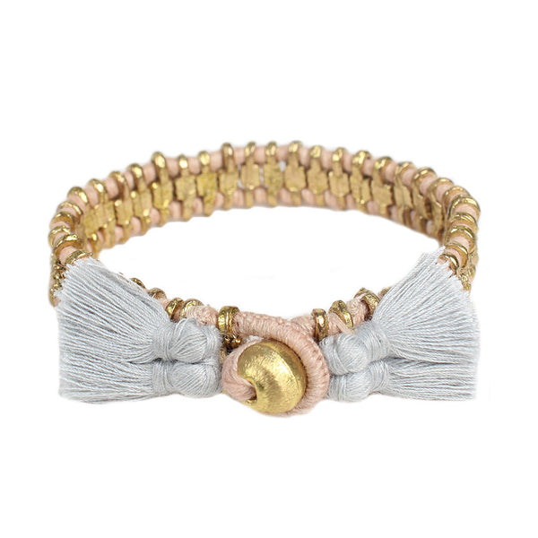 Blush Gray Cala Bracelet