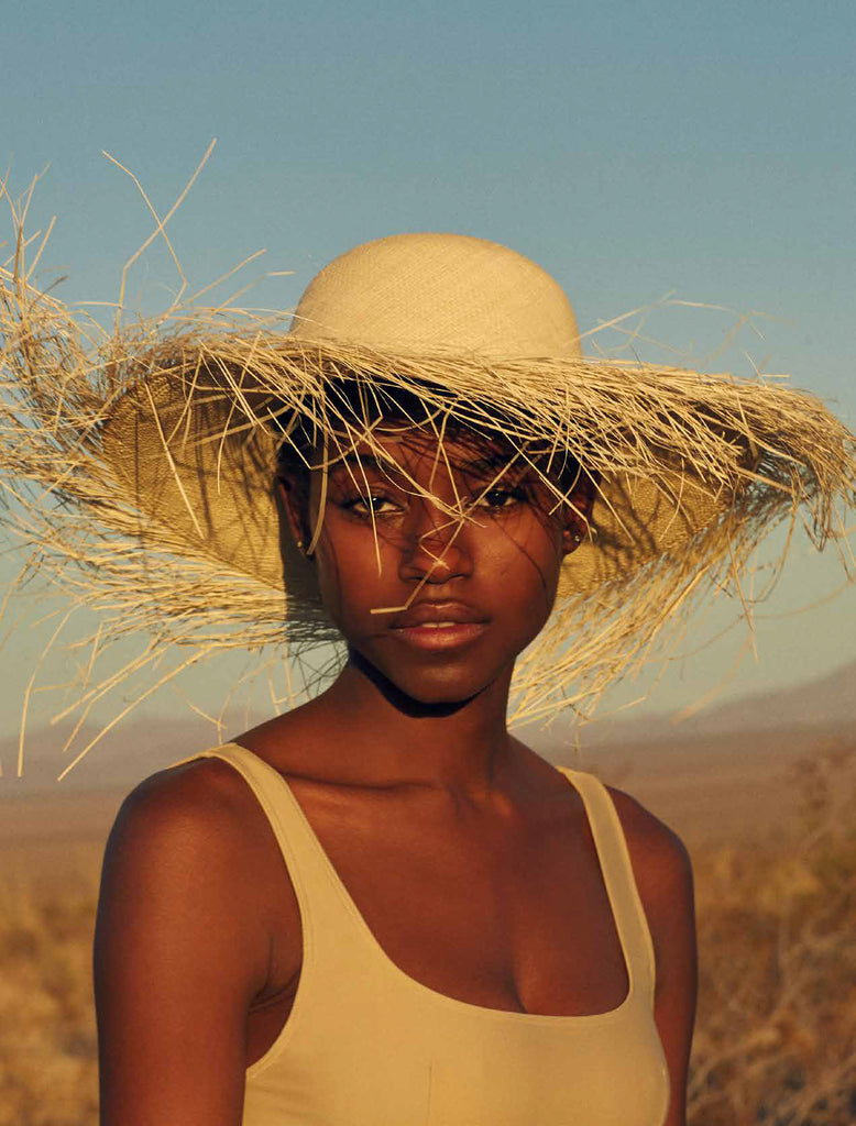 Natural Straw Ibiza Hat
