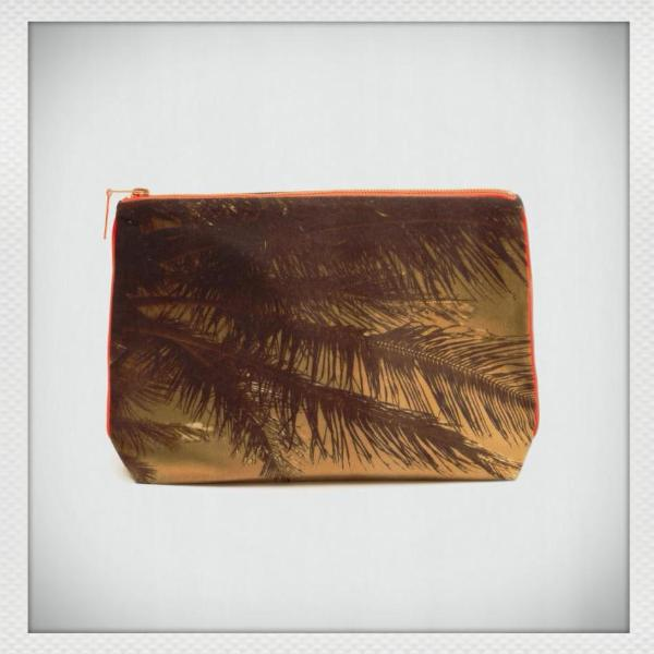 Tulum Burn Palm Pouch