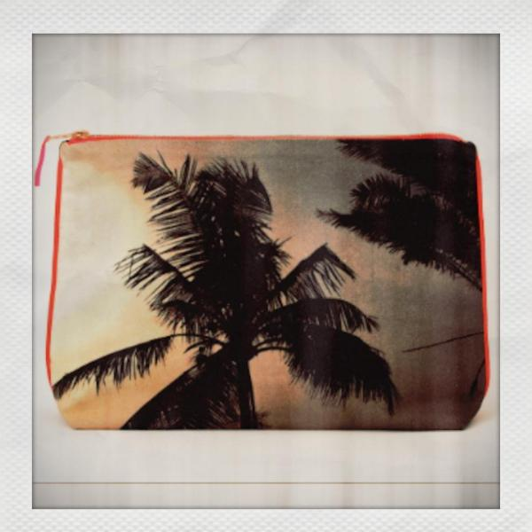 Mumbai Rose Palm Pouch