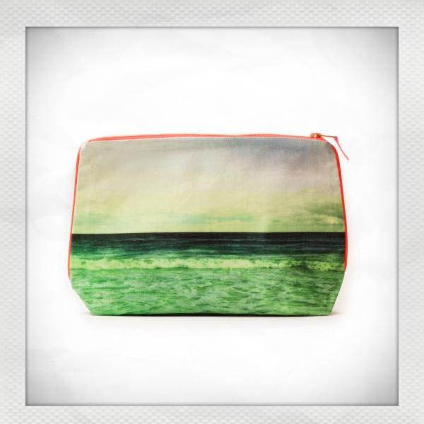 Emerald Waves Pouch