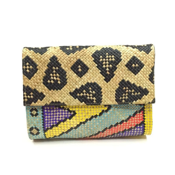 Spotted Zamal Clutch