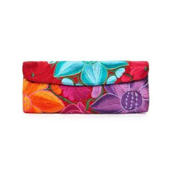 Dalia Pascal Cotton Clutch