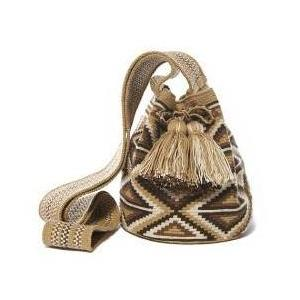 Diamond Sand Cotton Riohacha Mochila Bag