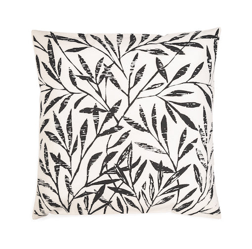 Black Cotton William Norris Cushion