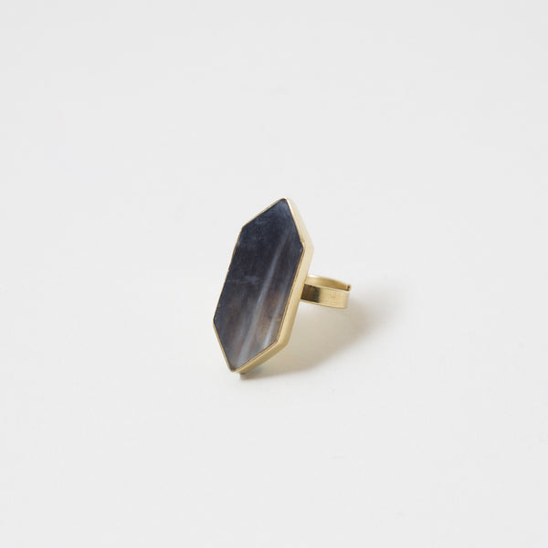 Trapezoid Horn Ring