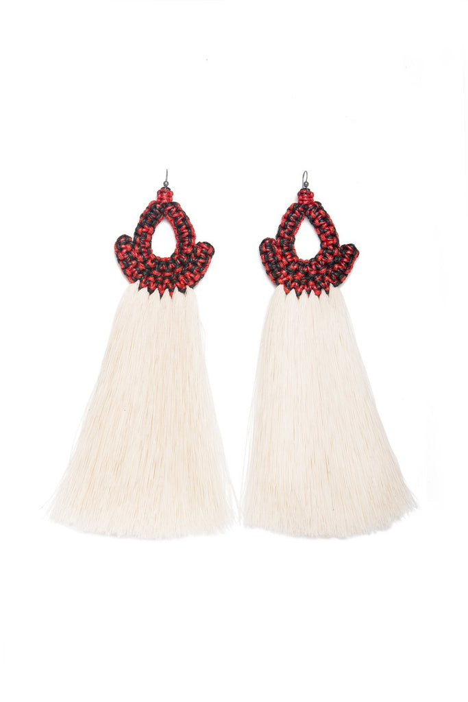 Faisan Cotton Earrings