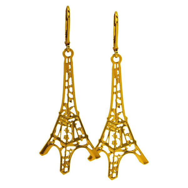 GAB & JO, Eiffel Tower Earrings, Michael Bonte