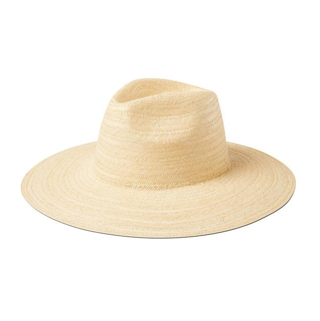 White Straw Malibu Hat