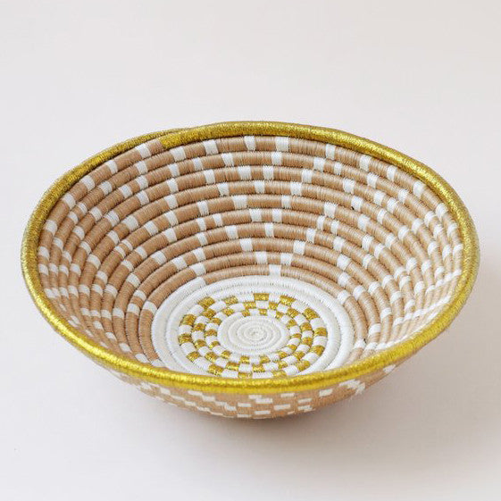 INDEGO AFRICA, Gold Plateau Basket