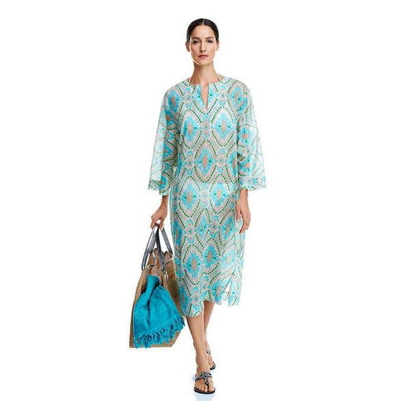 Green Cotton Hatice Tunic