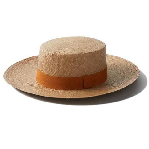 Habano Straw Boater Hat