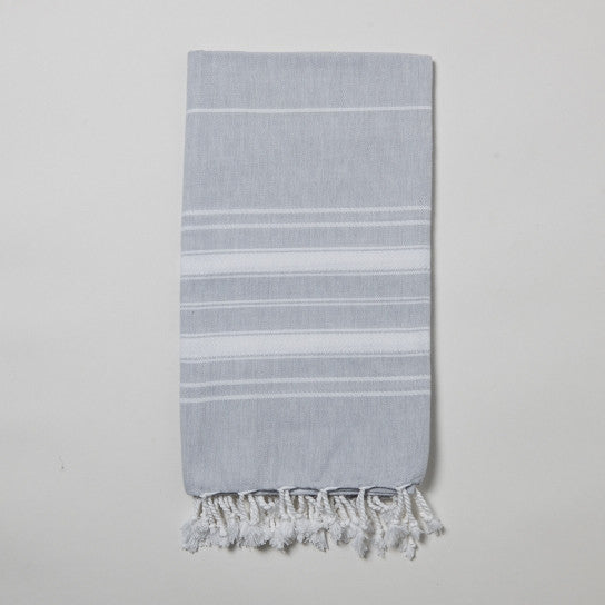 Heather Grey Turkish Towel