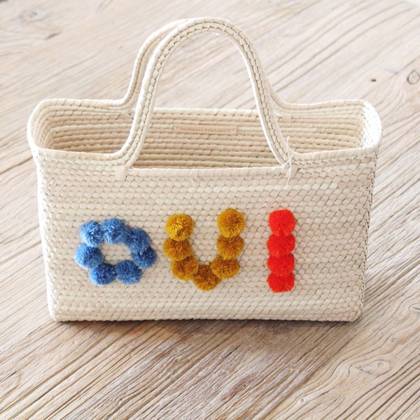 Palm Oui Tote Bag