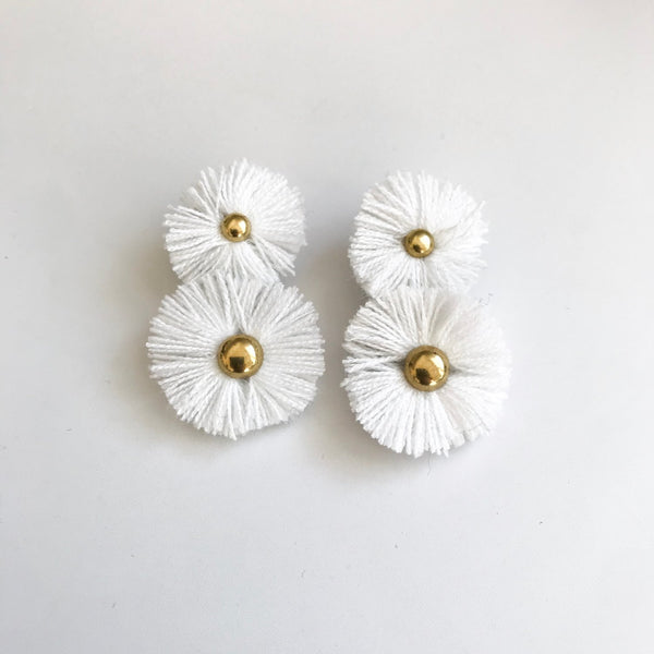 White Soles Earrings