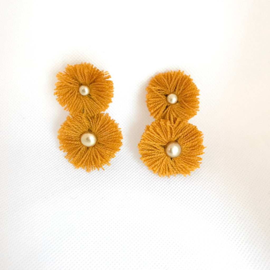 Ochre Soles Earrings