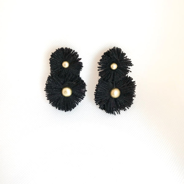 Black Soles Earrings