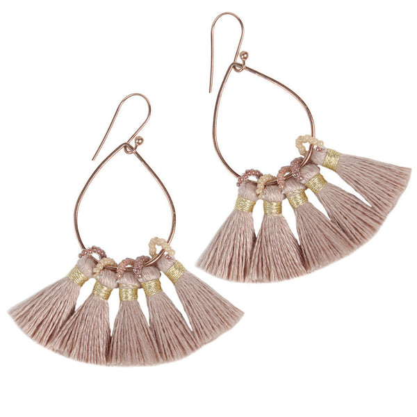 Mauve Jolie Earrings
