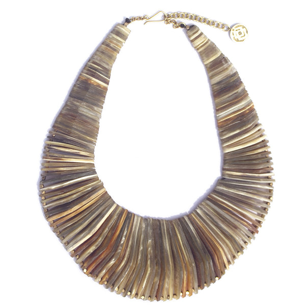 Soko x Laura Siegel Stacked Horn Necklace (Full)