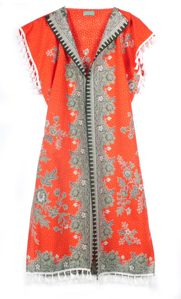 Orange County Cotton Kimono