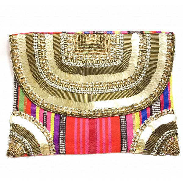 ETHNIQUE, Maharani Clutch
