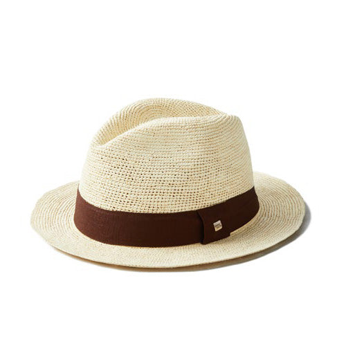 Natural Straw Flora Banda Hat