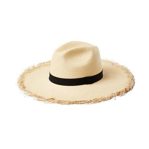 Natural Straw Montauk Hat