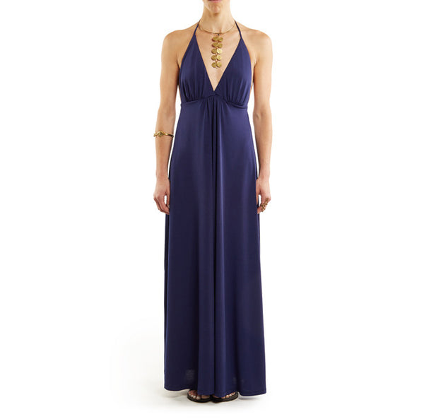 Navy Houston Maxi Dress